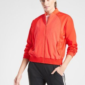 Athleta Zion Microfleece Jacket Oversized Small